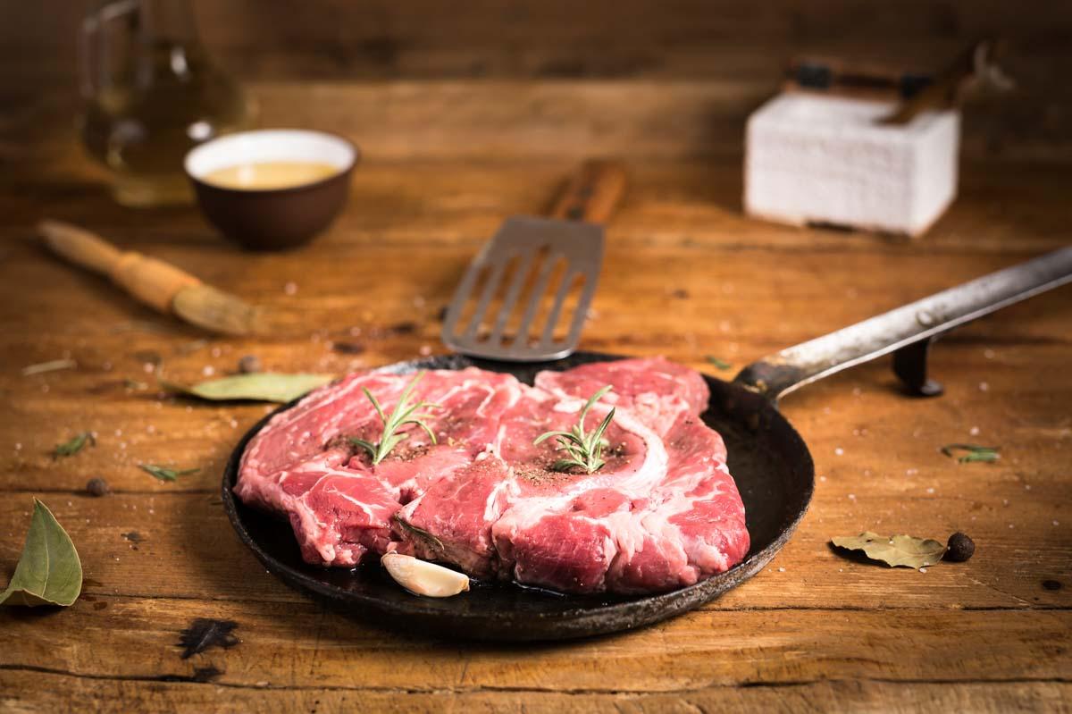 Krehký Flat iron steak
