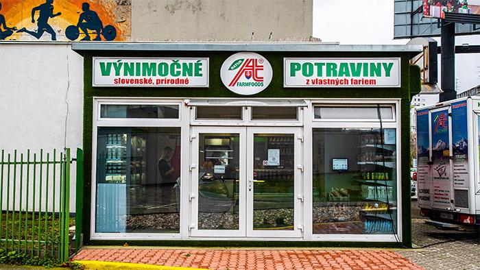 Predajňa Farmfoods Bratislava