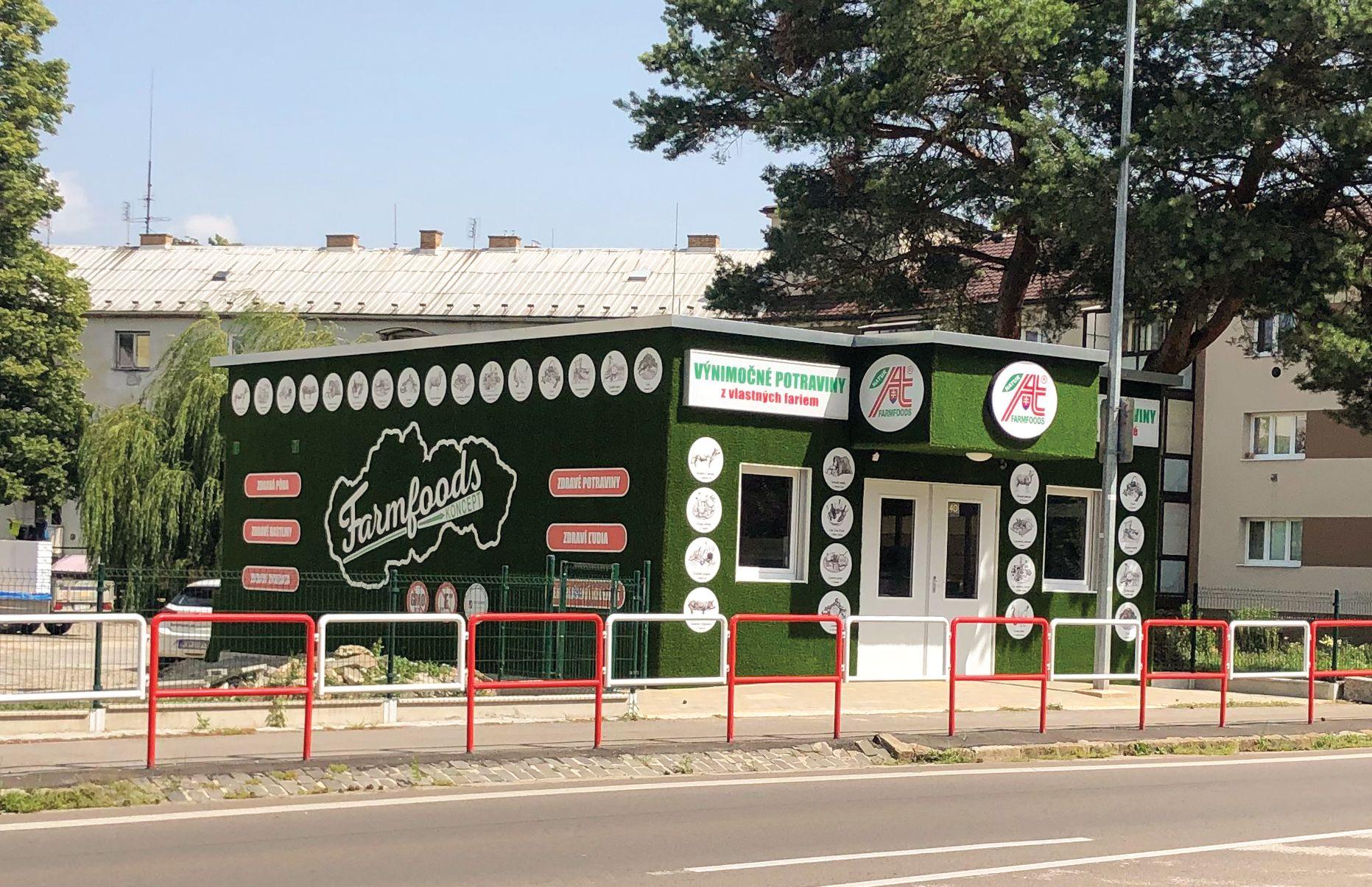 Predajňa Farmfoods Dubnica nad Váhom