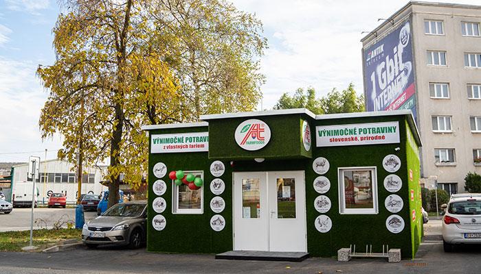 Predajňa Farmfoods Košice