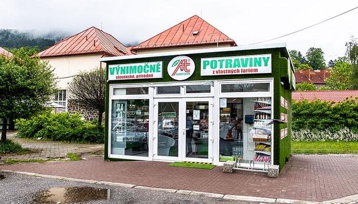 Predajňa Farmfoods Kremnica