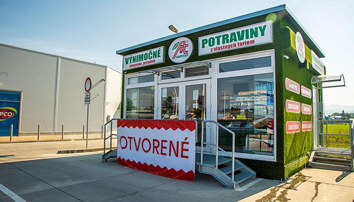 Predajňa Farmfoods Nové Mesto nad Váhom