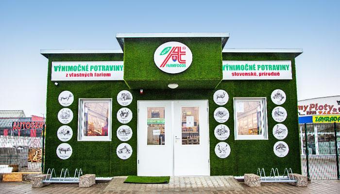 Predajňa Farmfoods Pezinok