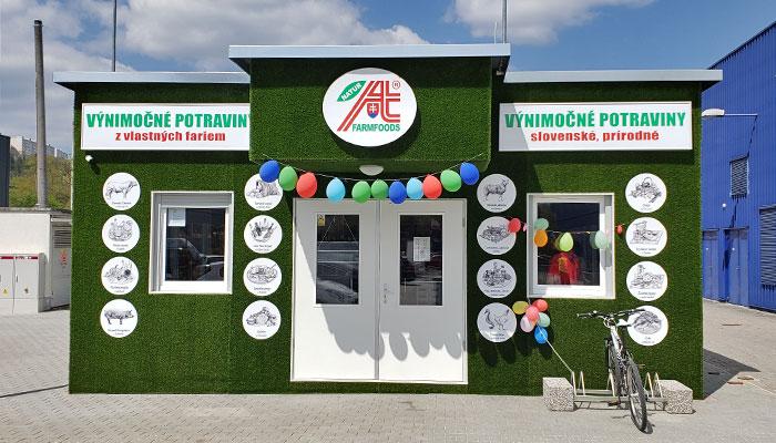 Predajňa Farmfoods Považská Bystrica
