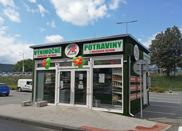 Predajňa Farmfoods Prešov OC Solivaria