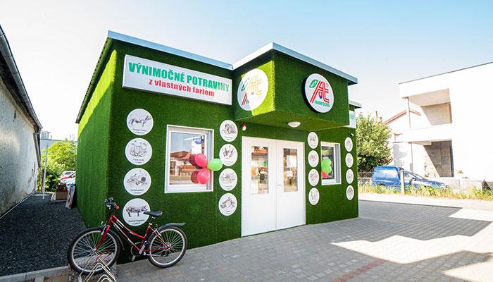 Predajňa Farmfoods Trebišov