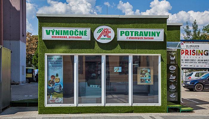 Predajňa Farmfoods Trenčín