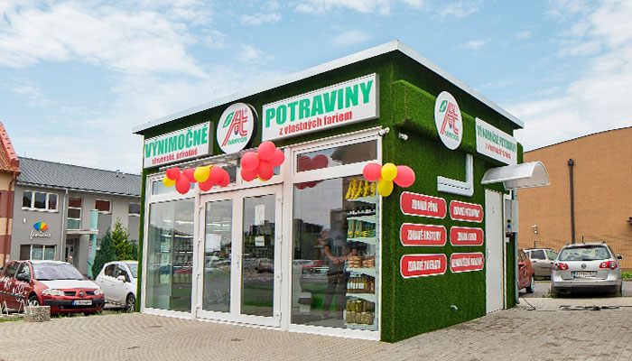Predajňa Farmfoods Vranov nad Topľou