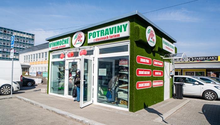 Predajňa Farmfoods Žiar nad Hronom