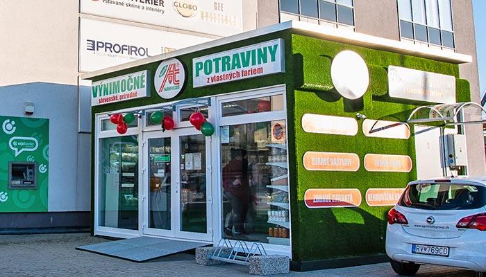 Predajňa Farmfoods Žilina